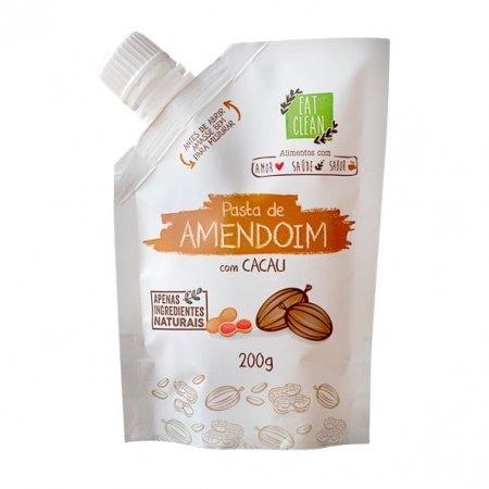 Pasta Amendoim Cacau Eat Clean Zero 200g