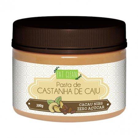 Pasta Castanha de Caju Cacau Nibs Eat Clean 300g