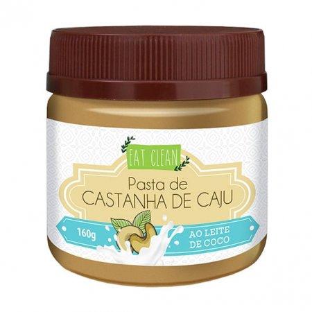 Pasta de Castanha de Caju ao Leite de Coco Eat Clean 160g