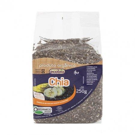 Chia em Grãos Ecobio Orgânica 250g