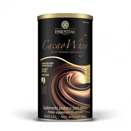 Cacao Whey Essential Nutrition sabor Chocolate 450g
