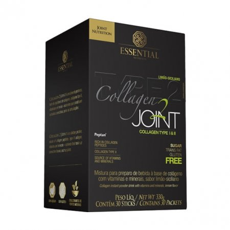 Collagen 2 Joint Limão-Siciliano Essential Nutrition 30 sticks