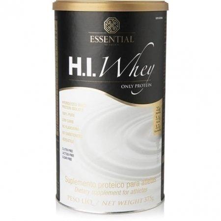HI Whey Protein Essential Nutrition Sem sabor 375g