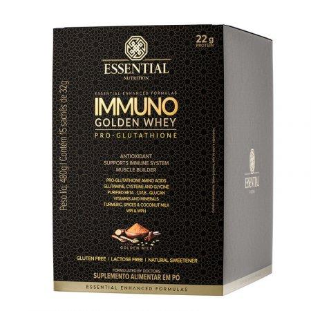 Immuno Golden Whey Pro Glutath Essential Nutrition 15x32g