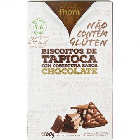 Biscoito Fhom de Tapioca com Chocolate 60g