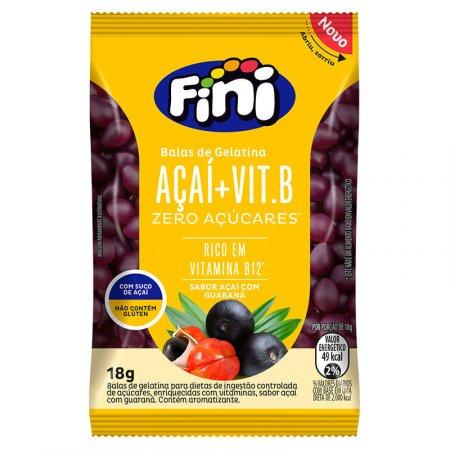 Bala Bem Estar Fini Vitamina B Açaí 12x18g
