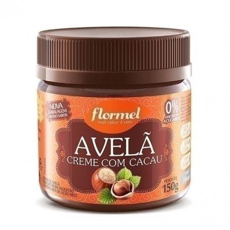 Creme de Avelã com Cacau Zero Flormel 150g