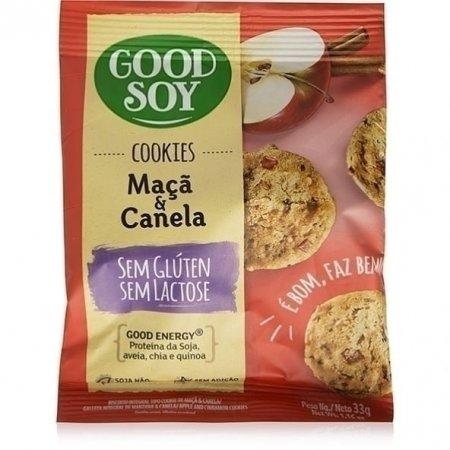 Cookie Integrais Good Soy Maçã e Canela 33g