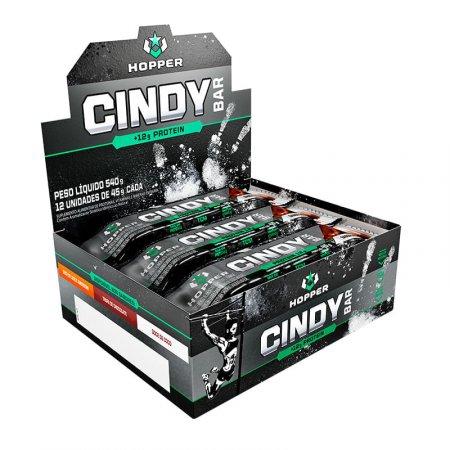 Cindy Bar Hopper Doce De Coco com Choco Chips 12x45g