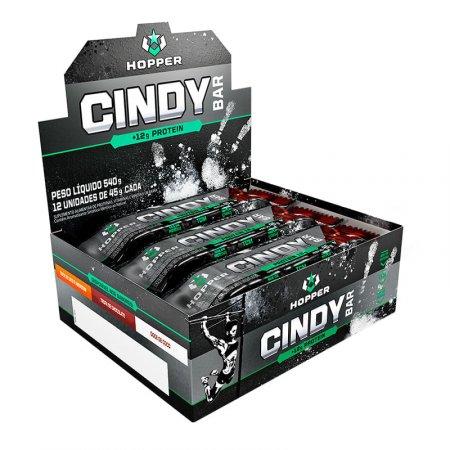 Cindy Bar Hopper Trufa De Chocolate com Choco Chips 12x45g