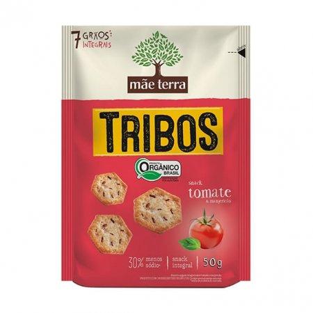 Tribos Snack Mãe Terra Orgânico Tomate e Manjericão 50g