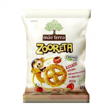Zooreta Mãe Terra Salgado Orgânico Pizza 45g