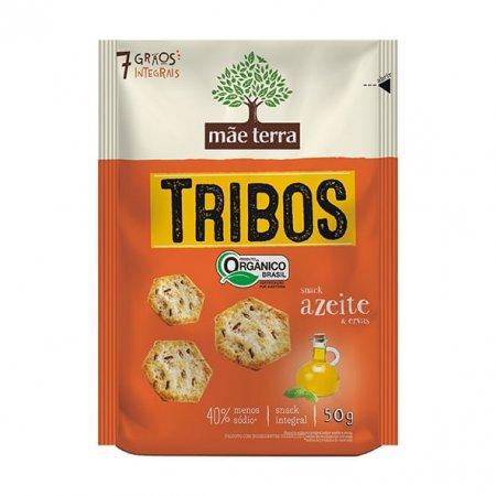 Tribos Snack Mãe Terra Orgânico Azeite e Ervas 50g