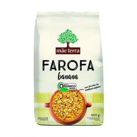 Farofa Orgânica Mãe Terra Banana 200g
