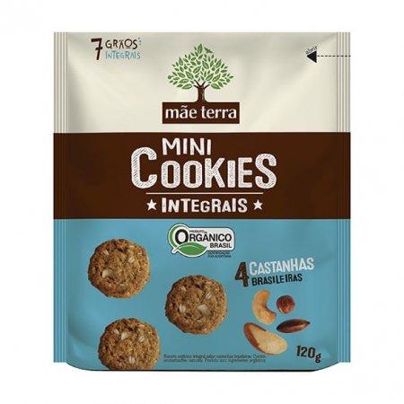 Cookies Mãe Terra Orgânicos 4 Castanhas 120g