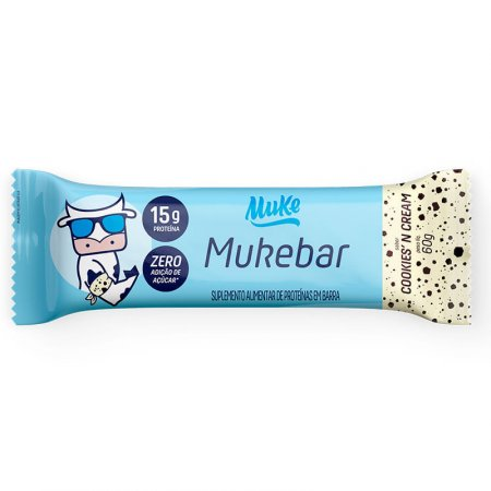 Muke Barra Cookies N Cream 60g - Mais Mu