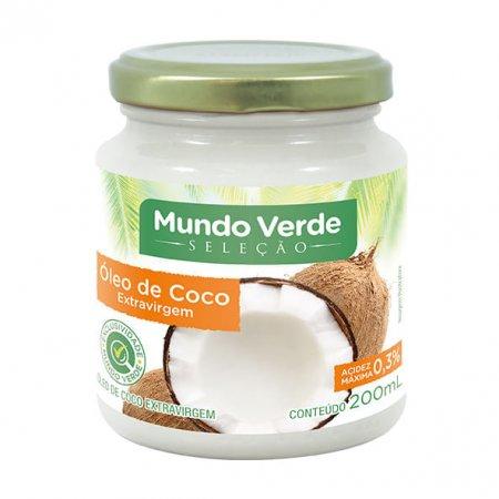 Óleo de Coco Mundo Verde Seleção Extravirgem 200ml