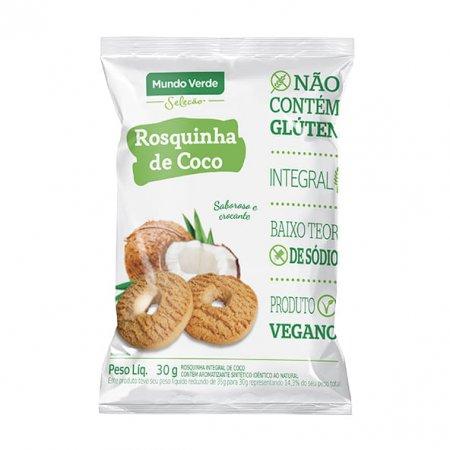 Rosquinha de Coco Mundo Verde Seleção 30g