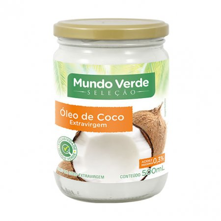 Óleo de Coco Mundo Verde Seleção Extra Virgem 500ml