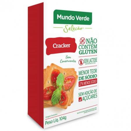 Cracker Mundo Verde Seleção 104g