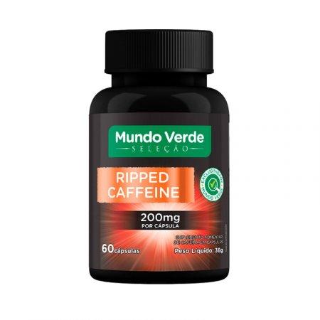 Ripped Caffeine Mundo Verde Seleção 200mg 60caps