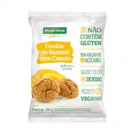 Cookie Mundo Verde Seleção Banana e Canela 100g