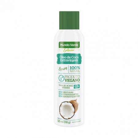 Óleo de Coco Mundo Verde Seleção Extra Virgem Spray 125ml