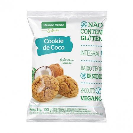 Cookie de Coco Mundo Verde Seleção 100g
