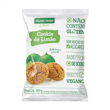 Cookie de Limão Mundo Verde Seleção 100g