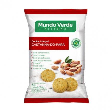 Cookie Mundo Verde Seleção Integral Castanha do Pará 120g