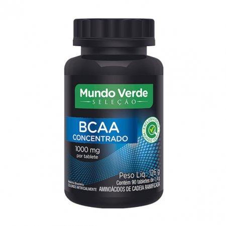BCAA Concentrado Mundo Verde Seleção 1000mg 90tabs