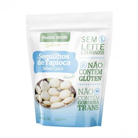 Sequilho de Tapioca Coco Mundo Verde Seleção 50g