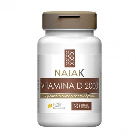 Vitamina D Naiak 2000UI 90 cápsulas