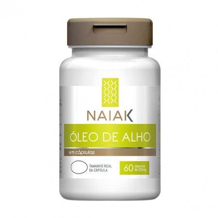 Óleo de Alho Naiak 250mg 60 cápsulas