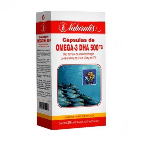 Ômega 3 DHA Naturalis 500 30 cápsulas