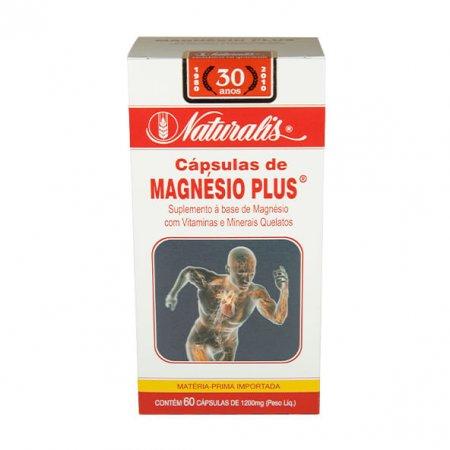 Magnésio Naturalis Plus 60 cápsulas