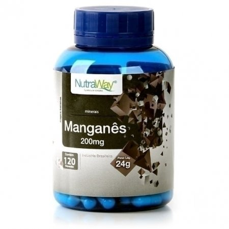 Manganês Nutraway 120 cápsulas