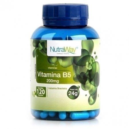Vitamina B5 Nutraway 120 cápsulas