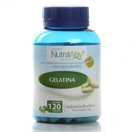 Gelatina Nutraway 300mg 120 cápsulas