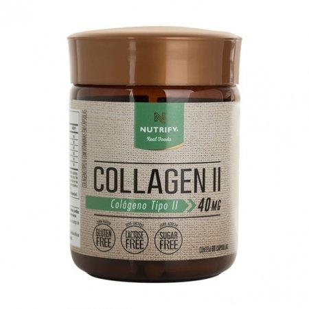 Collagen Tipo II Nutrify 40mg 60cápsulas