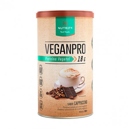 Veganpro Nutrify cappucino 550g