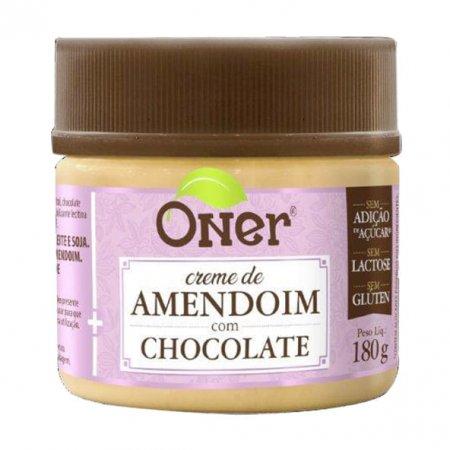 Doce fit Oner de amendoim com chocolate 180g