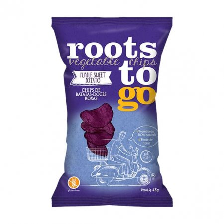 Chips Roots To Go Batata-Doce Roxa 45g