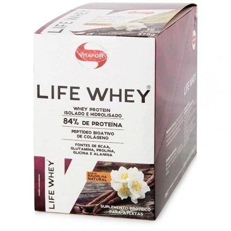 Life Whey Vitafor Baunilha 15x25g