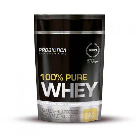 100% PURE WHEY BAUNILHA REFIL 825G Probiótica