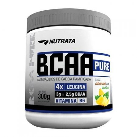 BCAA PURE ABACAXI COM HORTELA 300G NUTRATA