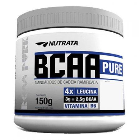 BCAA PURE ABACAXI COM HORTELA 150G NUTRATA