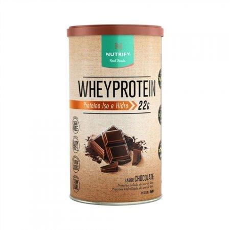 WHEY PROTEIN CHOCOLATE 450G NUTRIFY