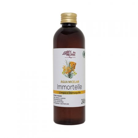 Água Micelar Arte dos Aromas Natural Immortelle 240ml