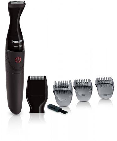 Aparador de Barba Series 1000 Philips Pilhas - MG1100/16 - Preto